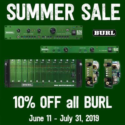 10% off all BURL
