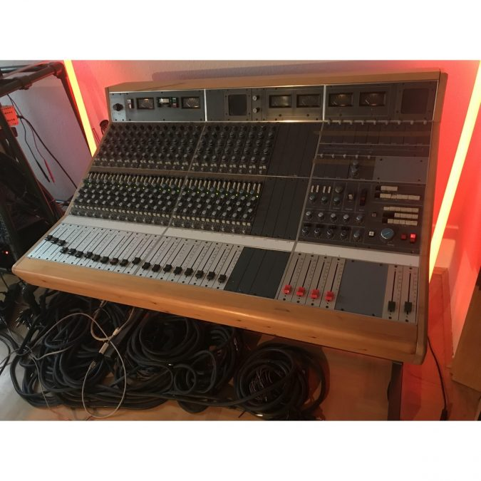 Neve 5315 Series Discrete Vintage 24 Frame Console Loaded 20