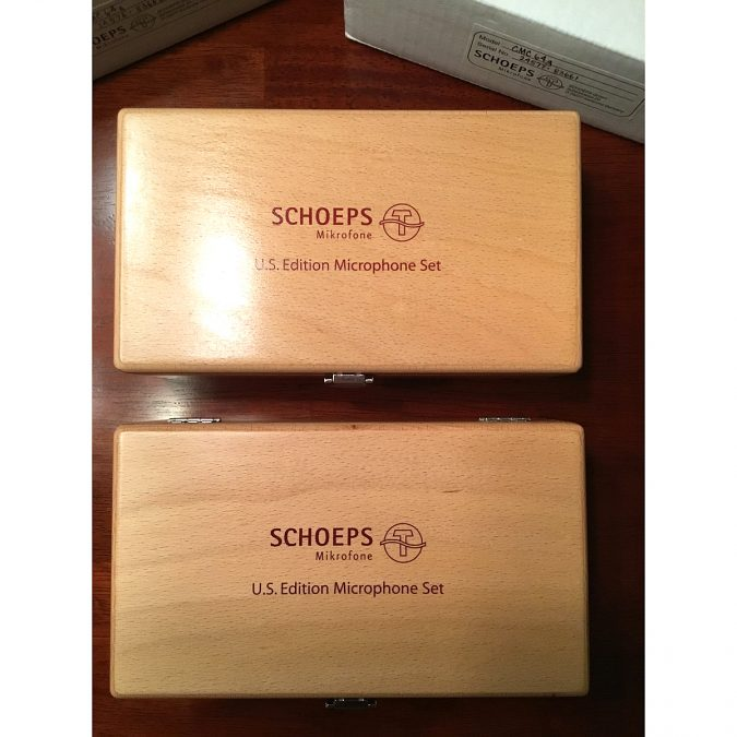 Schoeps CMC64g Matched Pair (Consecutive serial numbers)