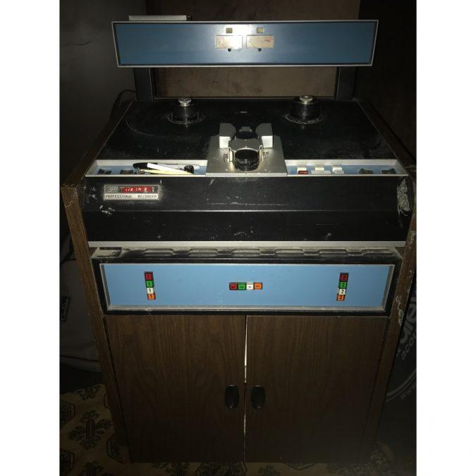 3M M79 1/2″ 2 Track Analog Recorder