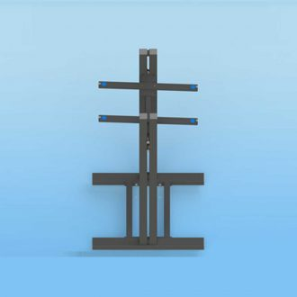 Sound Anchors ADMID Adjustable Speaker Stand Pair