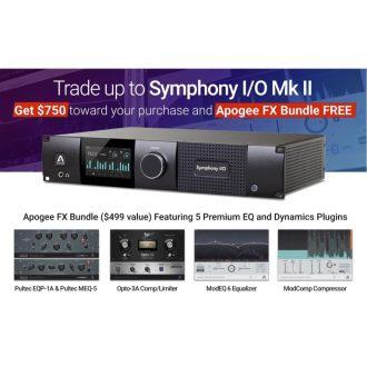 Apogee Symphony I/O MK II – Pro Tools HD Trade up get $750 and Apogee FX bundle