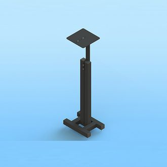 Sound Anchors Compact Adjustable Monitor Stand