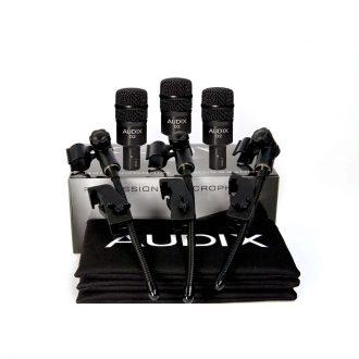 Audix D2 Trio Packs-Sets Microphone Bundle