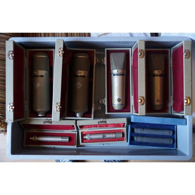 Vintage Neumann/Schoeps Mic Collection