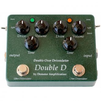 Demeter DD-1 Double Overdrive Pedal