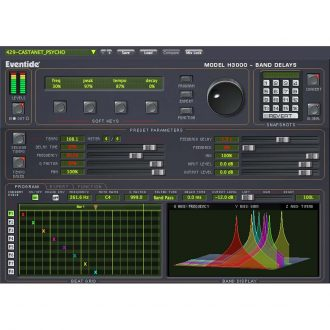 Eventide H3000 Band Delays Multi-Effect Plugin