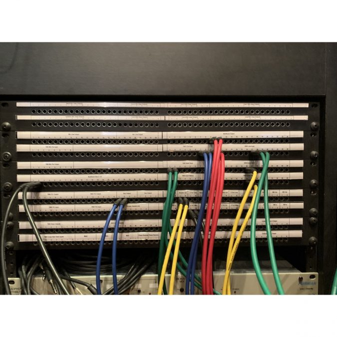 API DSM 24 with 8 x 7600 Channels Strips (Used) Racked and ready