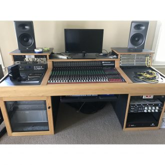 Toft ATB24 with Meterbridge in Sound Construction Console