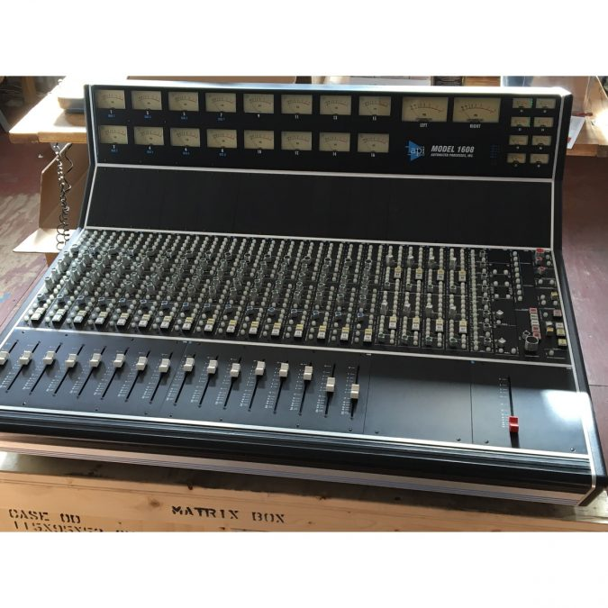 API 1608 Analog Console (Used)