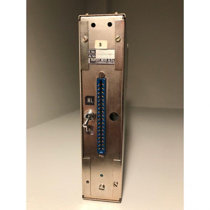 Neve 1073 Vintage set of 4 in 8 space rack. Early 1970's Dark Blue!