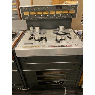 Studer A800 1″ 8 Track Analog Recorder (Vintage)