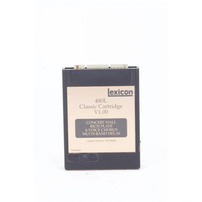 Lexicon 480L (Vintage) Processor with LARC and Classic Cart