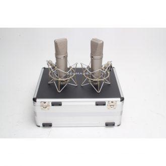 Neumann U 87 Ai Stereo Set Stereo Set Nickle (Demo Price)