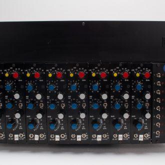 Helios Type 69 (Vintage) Mic Pre/EQ rack of 8
