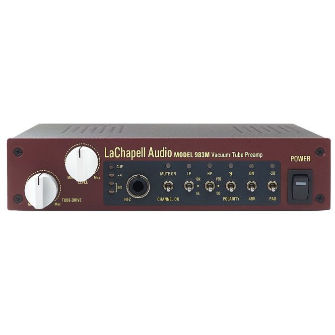 Lachapell 983M Single Channel Tube Mic Preamp