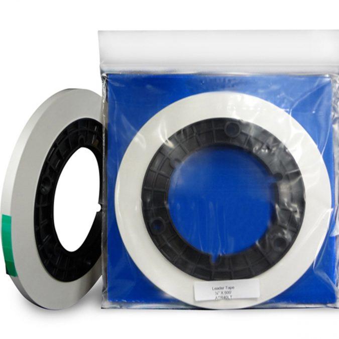 ATR Leader Tape Precision Cut Roll – White