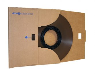 ATR Master Tape 10.5″ NAB Pancake Cardboard Box