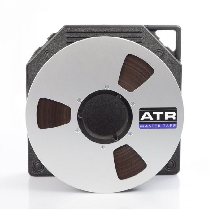 ATR Master Tape w/ 10.5″ Precision Metal Reel Tape