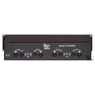 Coleman Audio MBP4 Quad VU Meter Module