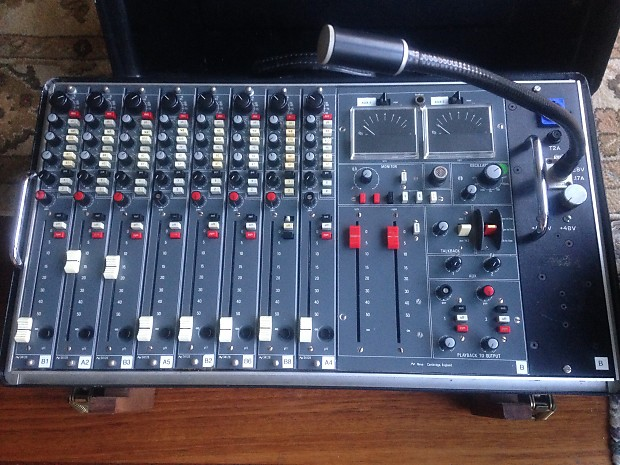 Neve 54 Series Vintage x 8 channels Suitcase Mixer late '70s