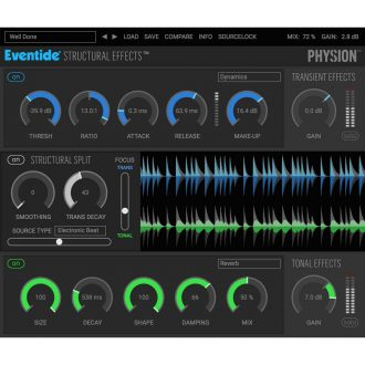 Eventide Physion Structural Effects Plugin
