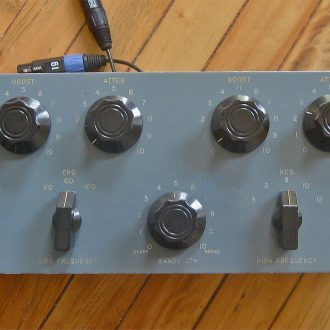 Pultec EQP 1R (Vintage) Tube Program EQ