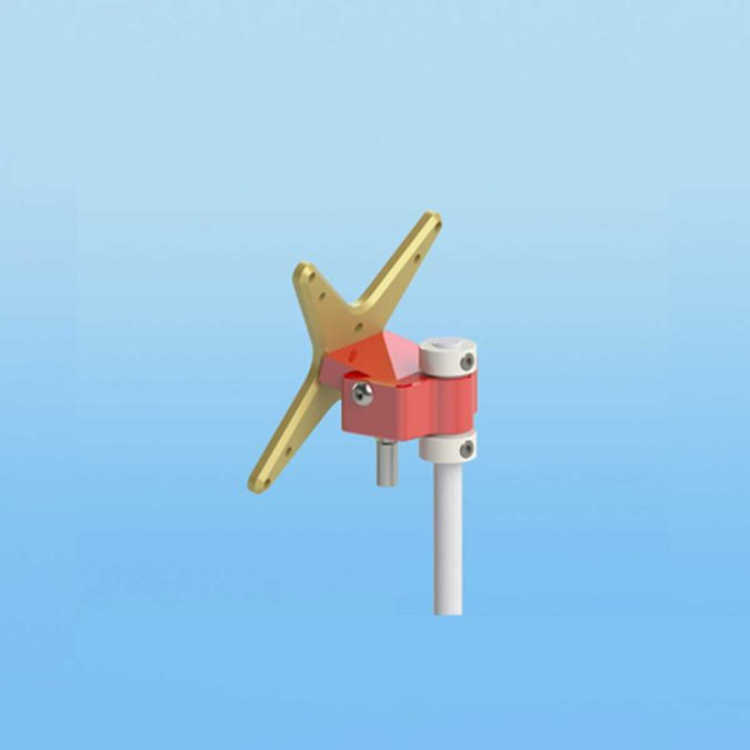 Sound Anchors Red Mounts LCD Mounting Solutions
