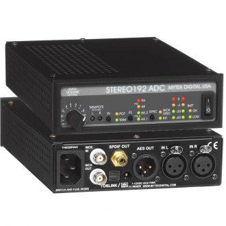 Mytek Stereo192 ADC 2-Channel A/D Converter