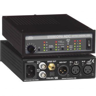 Mytek Digital Stereo96 ADC 2-Channel A/D Converter