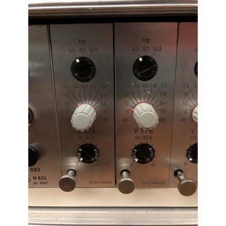 Telefunken V376 Mic Pre Rack of 8 (Vintage)