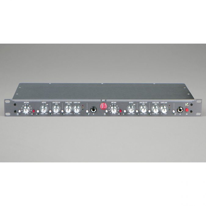 AEA RPQ2 2-ch Ribbon Mic Preamp with EQ & DI