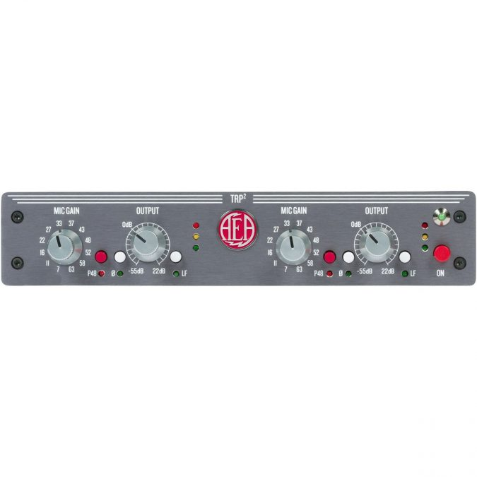 AEA TRP2 Two Channel Ribbon Preamp