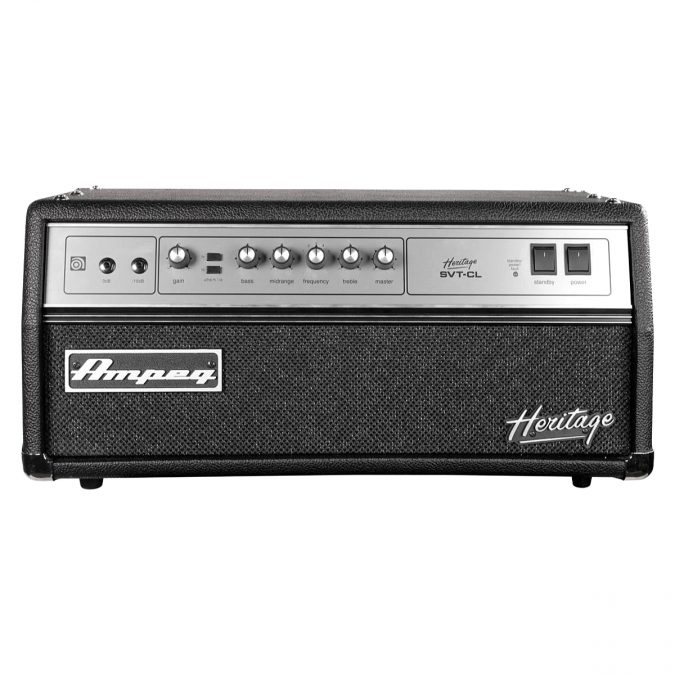 Ampeg Heritage SVT-CL Tube Bass Amplifier Head