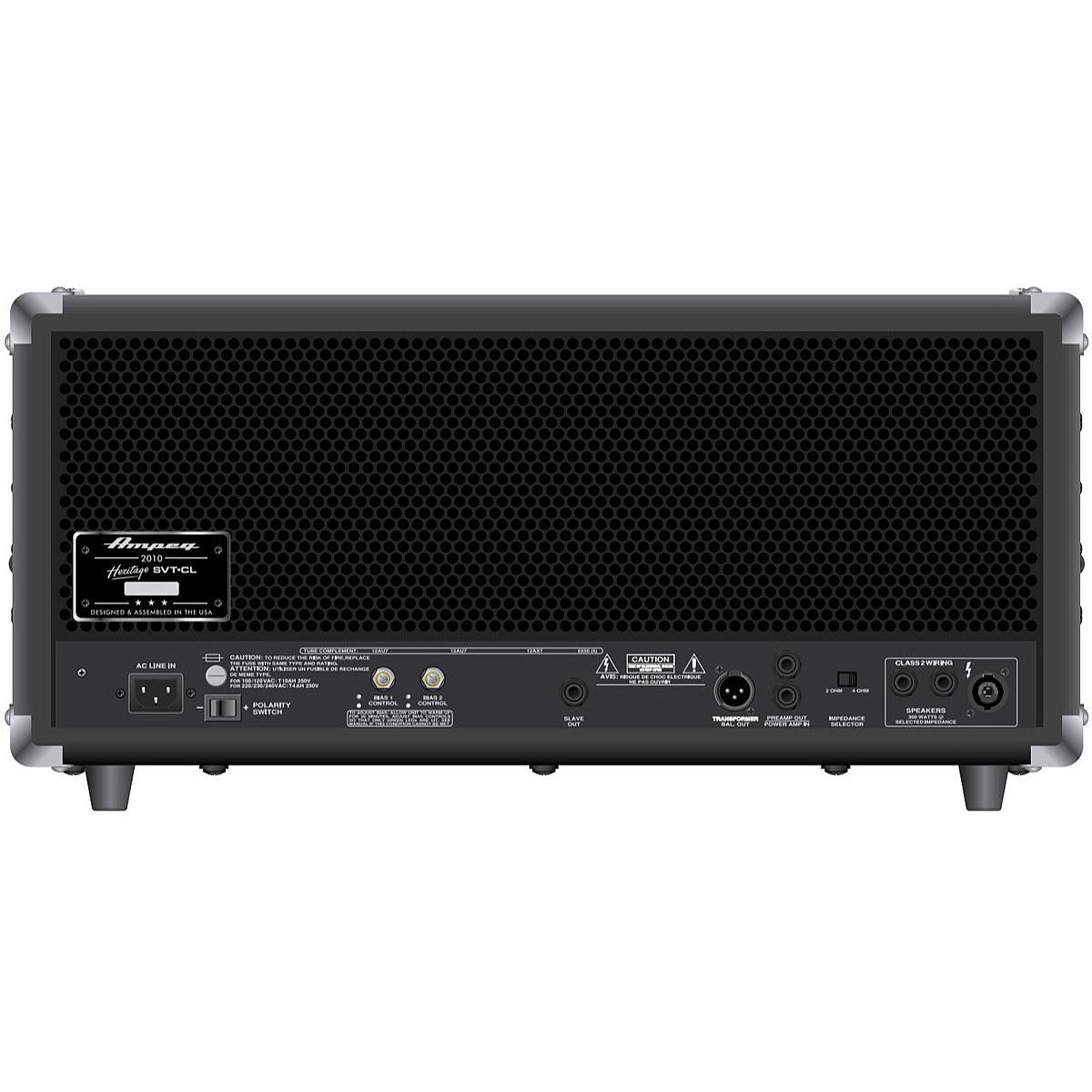 Ampeg Heritage SVT-CL Tube Bass Amplifier Head