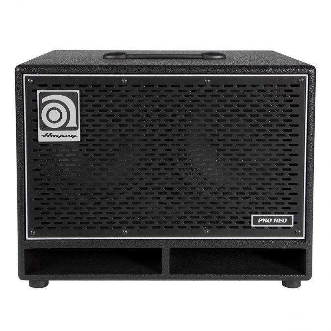Ampeg PN-210HLF 550-Watt Bass Cabinet with Horn