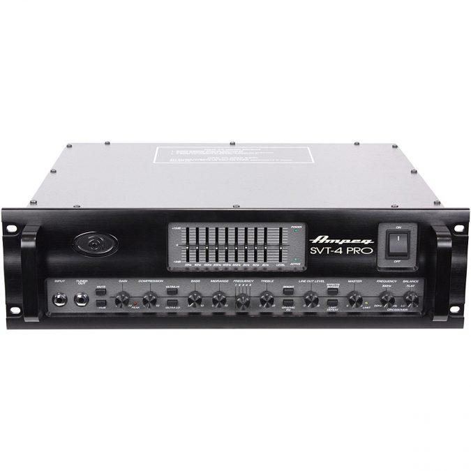 Ampeg SVT-4PRO 1200 Watt Tube Preamp Bass Head