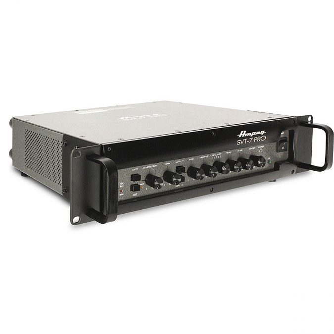Ampeg SVT-7Pro 1000 Watt Tube Preamp Bass Head