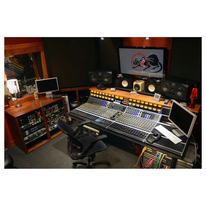 API 1608 16-Channel Recording Console Frame No EQ's