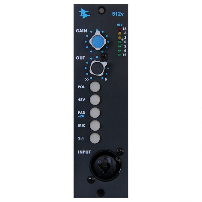 API 512V Discrete Mic / Line Pre