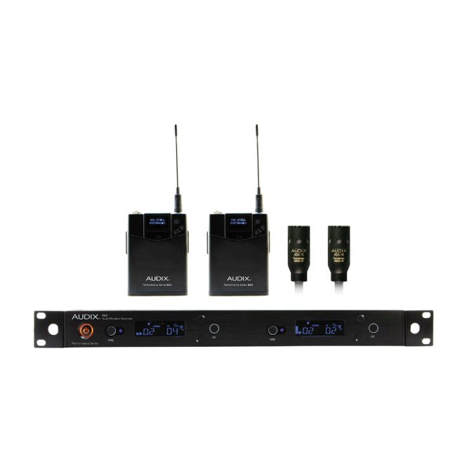 Audix AP62-L10 Dual Wireless Lavalier System