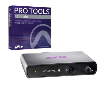 Avid HD Native Thunderbolt Core Interface w/ Ultimate Software