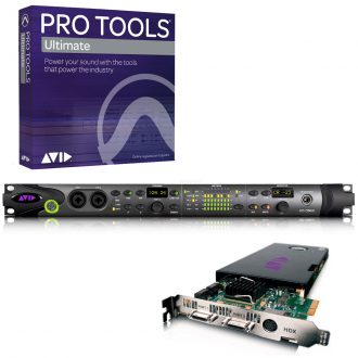 Avid Pro Tools HDX System w/ HD Omni Interface