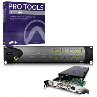 Avid Pro Tools HDX + HD I/O 16×16 Digital + Ultimate