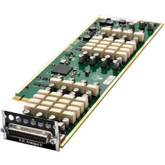 Avid Pro Tools MTRX 8 Line Input Pristine AD Card