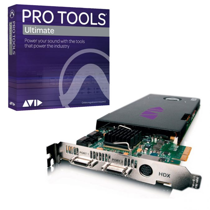 Avid Pro Tools HDX Core Card with Pro Tools Ultimate