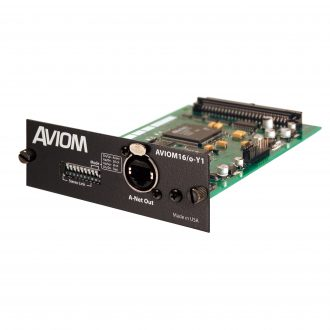 Aviom 16/o-Y1 A-Net Card