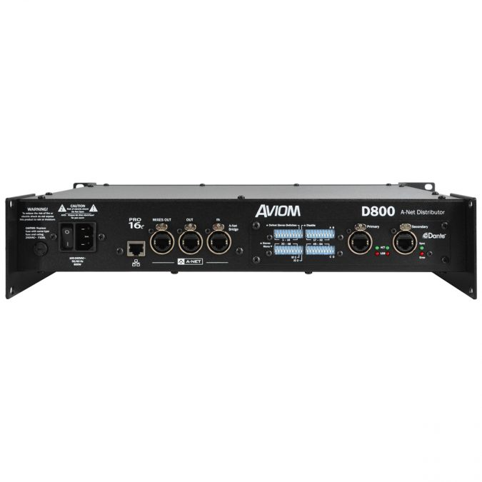 Aviom D800-Dante A-Net Distributor