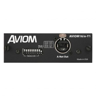 Aviom 16/o-Y1 16 Channel Yamaha Output Card