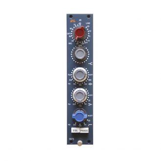 BAE 1073 Mic Pre/EQ Module (Blue)